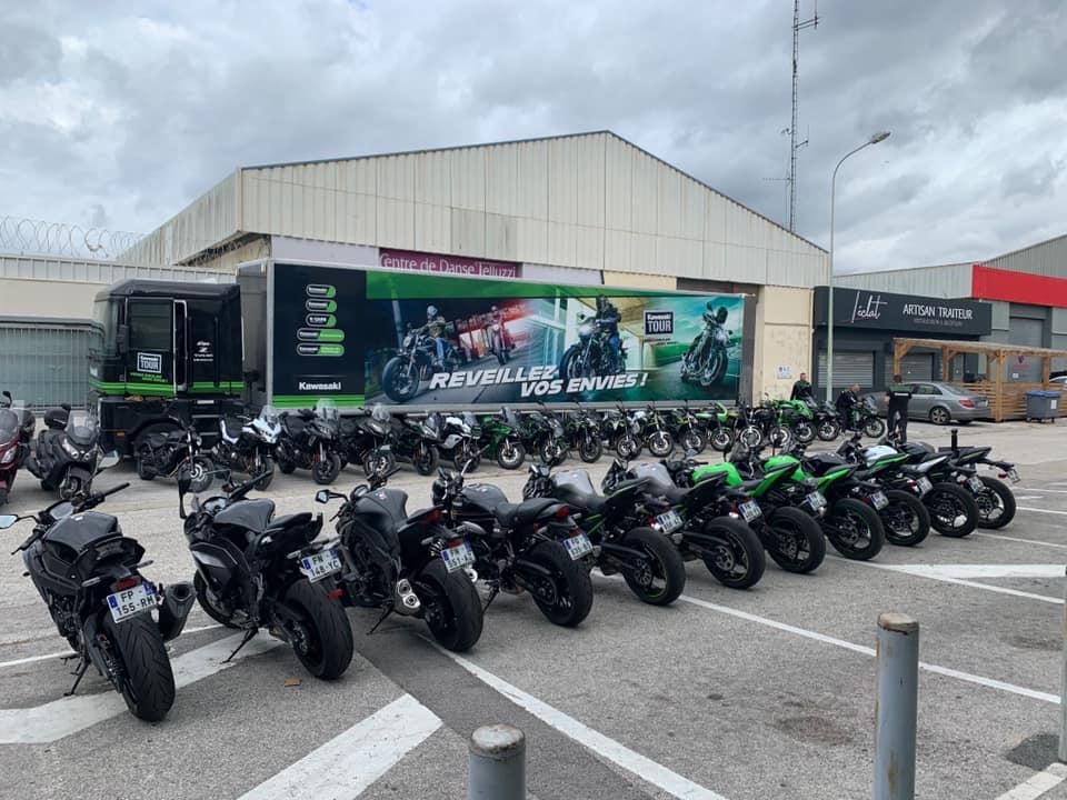 Le Kawasaki Tour de retour dans le Sud !